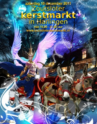 Zoutsloter Kerstmarkt Harlingen 2011 - small