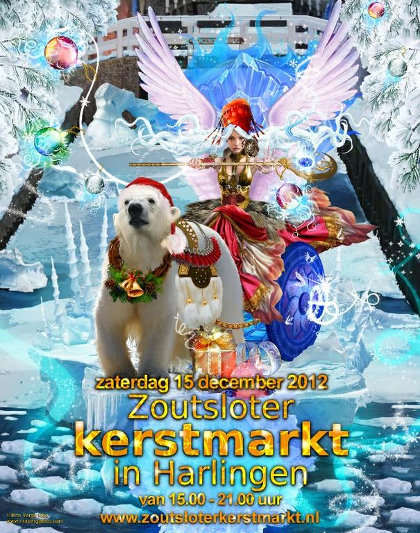 Zoutsloter Kerstmarkt Harlingen 2012 - big