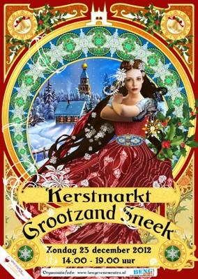 Kerstmarkt Grootzand Sneek - small